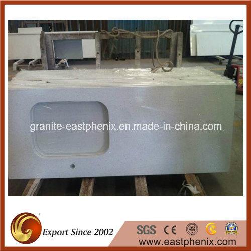 High Quality White Sparkle Quartz Stone for Countertop