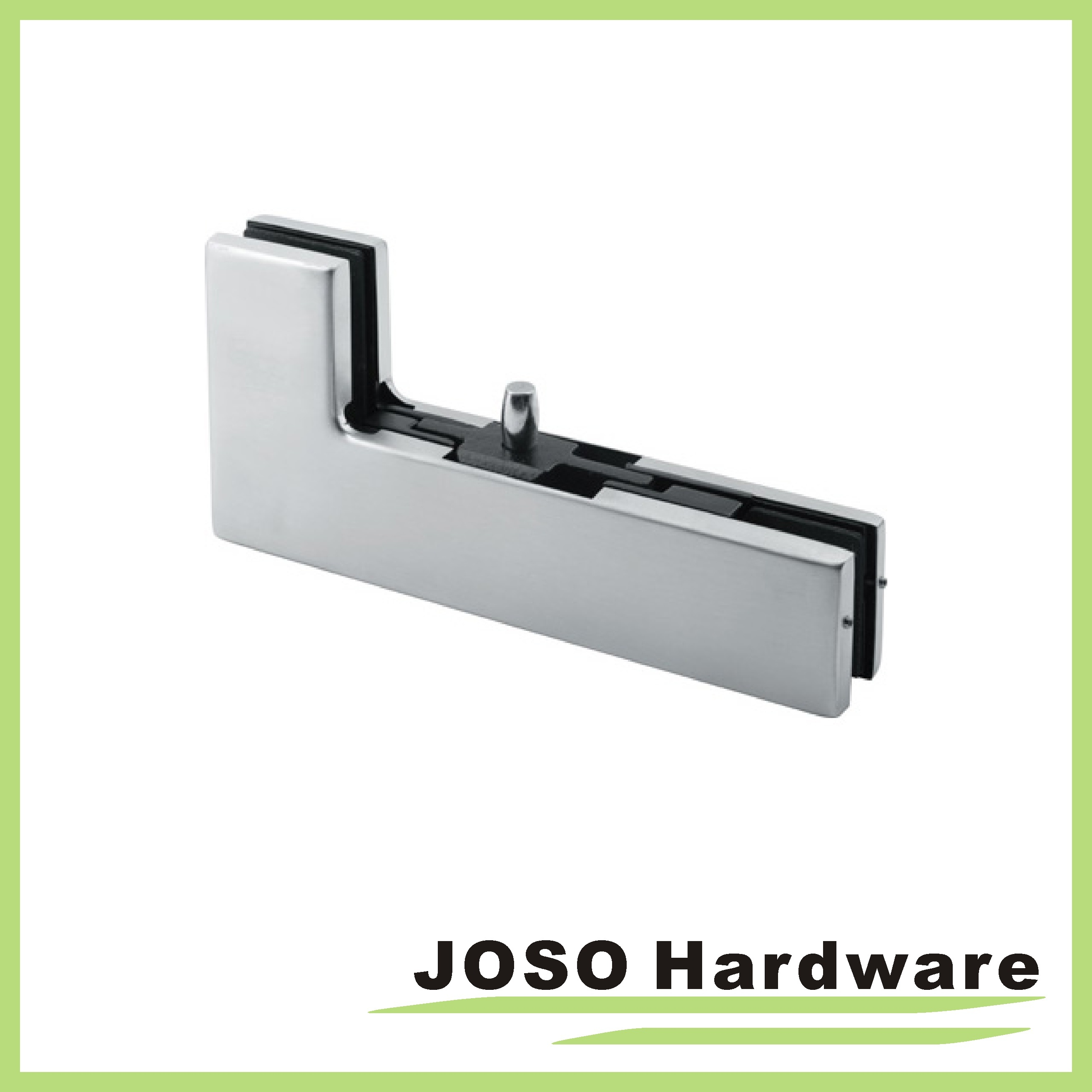 Glass Door Sidelite Corner Overpanel Patch Fitting with Pivot PT103