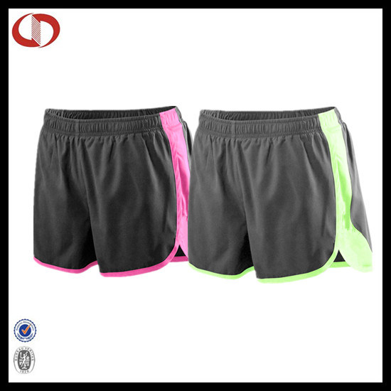 Wholesale Plain Women Sport Running Shorts