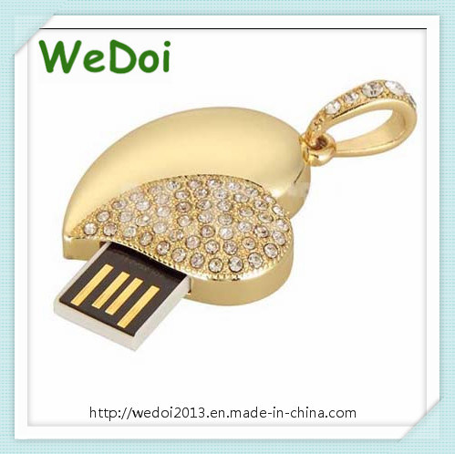 Heart Jewelry USB Memory Stick for Wedding Gift (WY-D03)