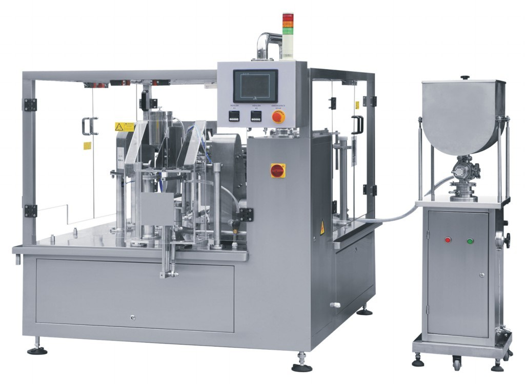 Liquid Measuring and Packaging Machine