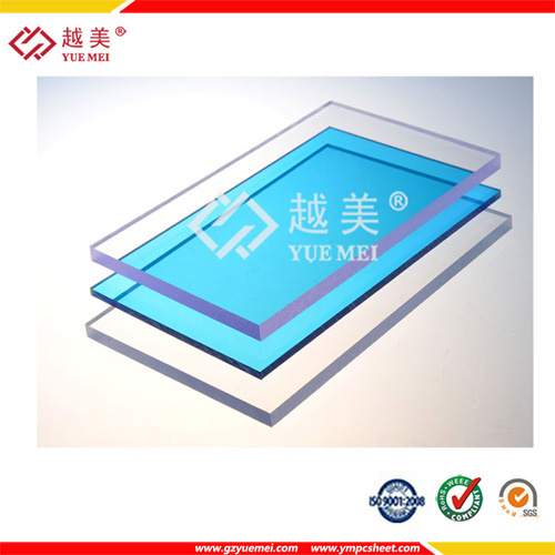 Ge Lexan Polycarbonate Solid Sheet/Flat Plastic Polycarbonate Panel