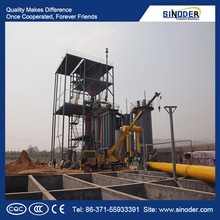 Single Stage Coal Gasifier/Coal Gasification for Gas Generation Plant