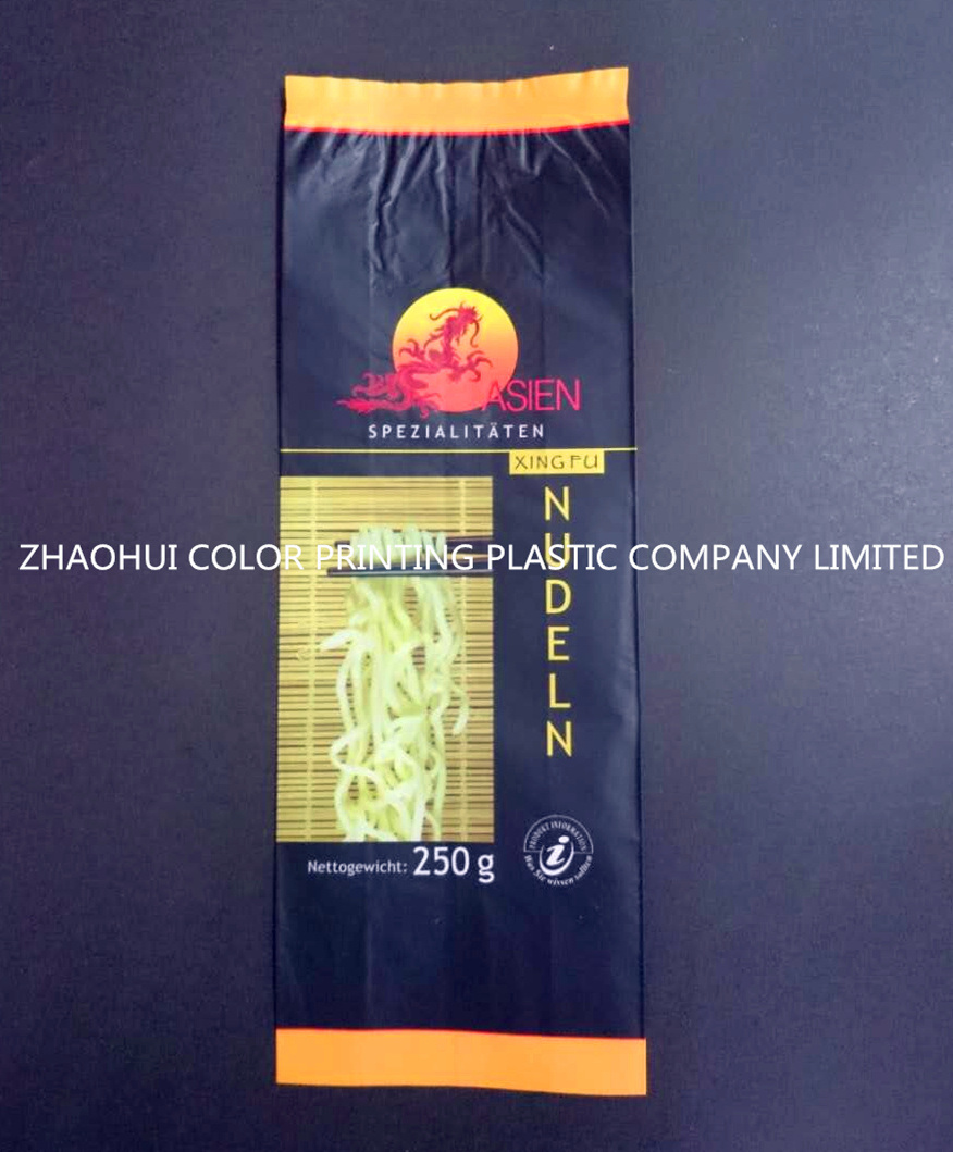 Middle Seal Plastic Noodles Package Bag