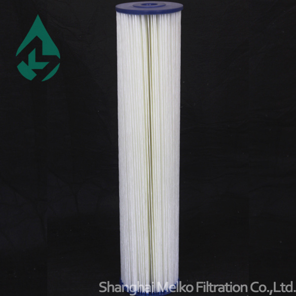 "20"" Big Blue Pleated Filter Cartridge"