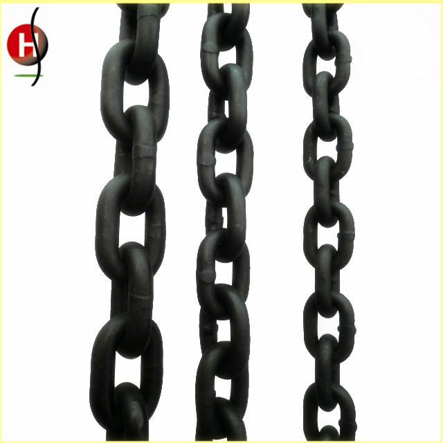 High Quality Durable G80 Black Lifting Chain for Chain Block