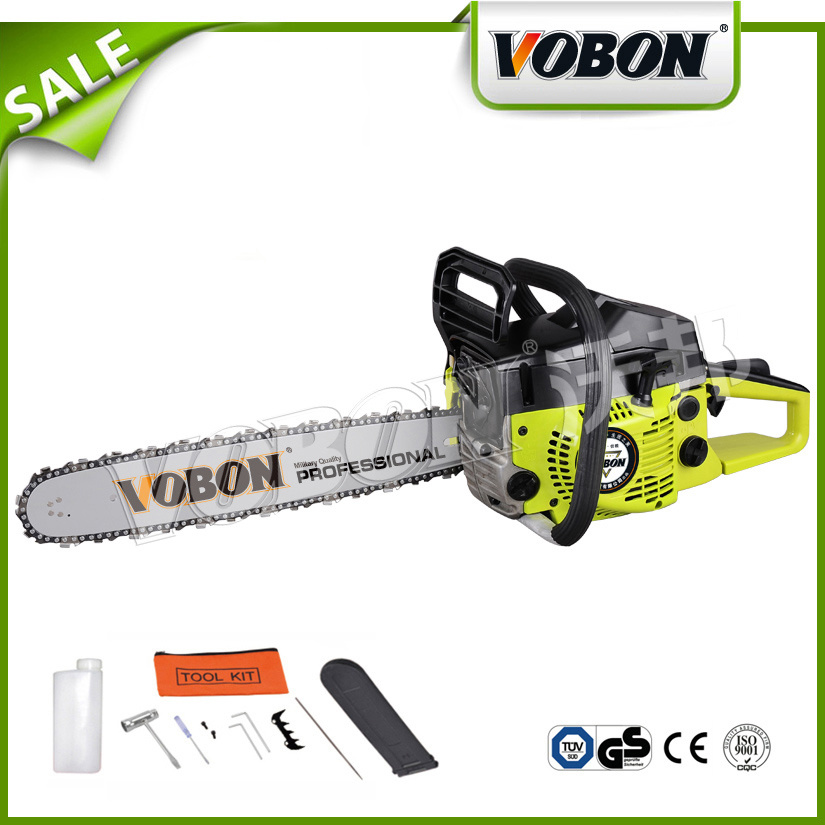 Agriculture Gasoline Chain Saw for Wood Cutting Tool