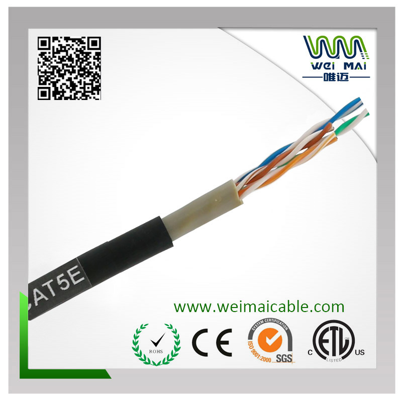 4Paris 24AWG Bc UTP Cat5e Outdoor LAN Cable