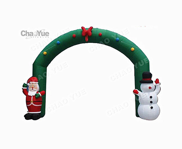 2015 Newest Inflatable Christmas Arch for Christmas Decoration (CYAD-1470)