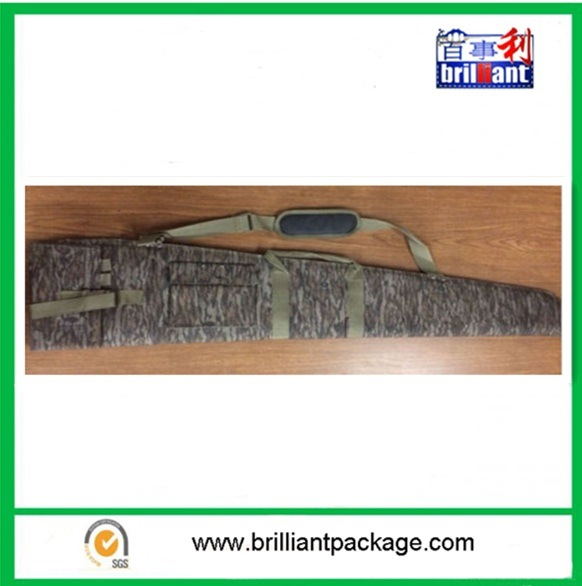 """52"""" Gun Case with Rugged Oversized Zippers and Webbing Handles"""