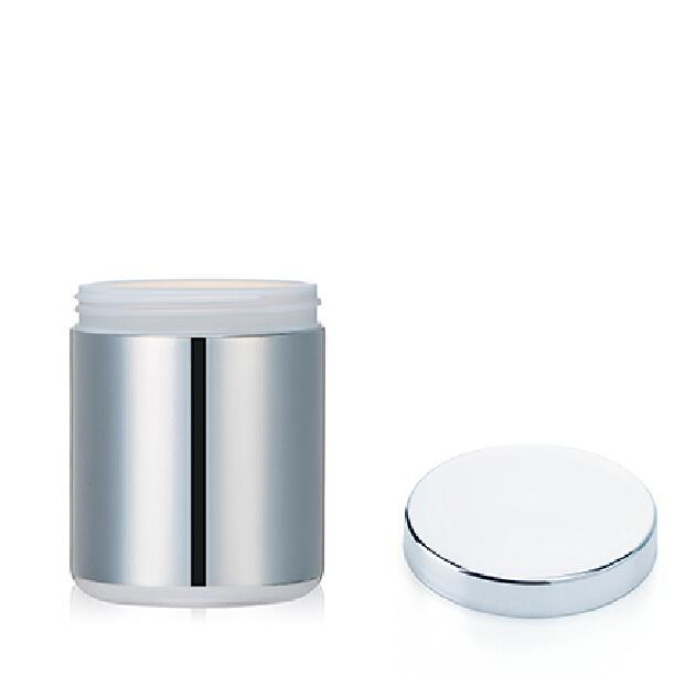 16oz/500ml HDPE Silver Chromed Pharmaceutical Plastic Bottle
