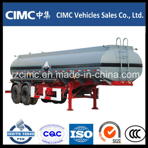 Cimc 45cbm 3-Axle Oil Fuel Tank Semi Trailer