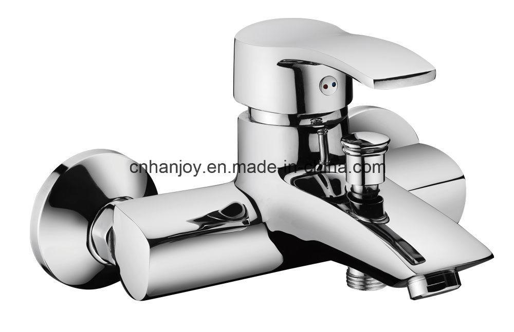 Hot Sale Wall Mounted Single Handle Bathtub Faucet (H01-102)