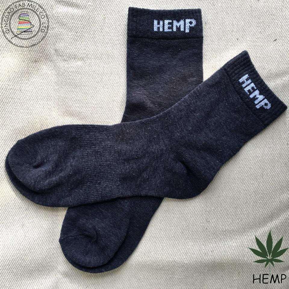 Anti-Bacterial Organic Hemp Socks for Promotiom (HS-1604)