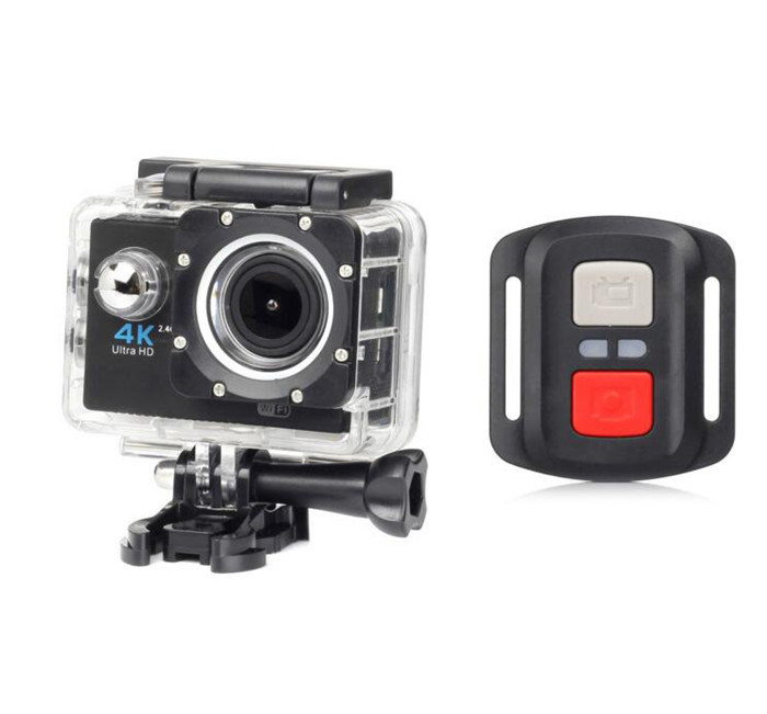 Sports HD 4K Outdoor Waterproof Digital DV Camera with WiFi Remote Control