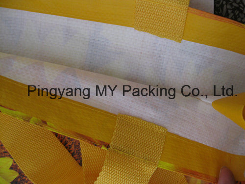 OEM Order Promotional Nonwoven PP Woven Shopping Bag (my07181)