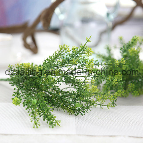 Plastic Leaves Aritificial Flower for Wedding/Home/Garden Decoration (SF16297)