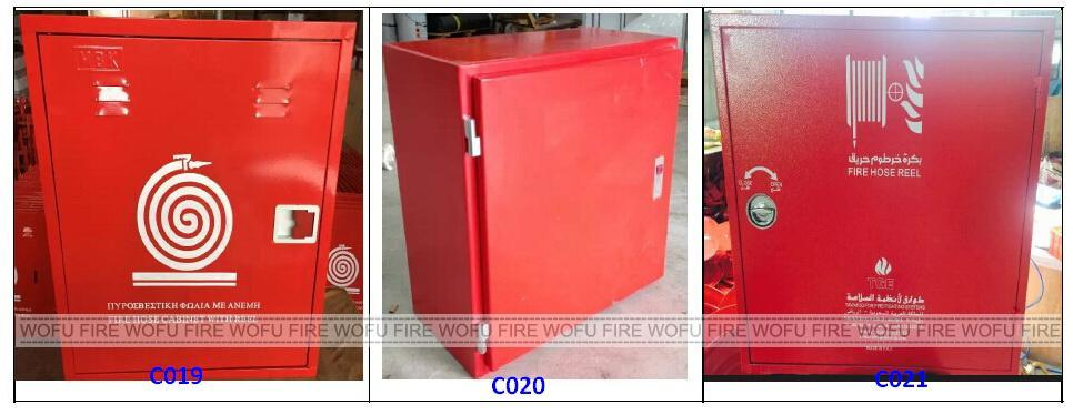 Single Door Steel Cabinet with Hose Reel