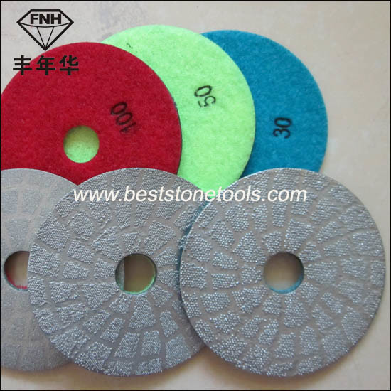 Bd-1 Diamond Brazed Polishing Pad
