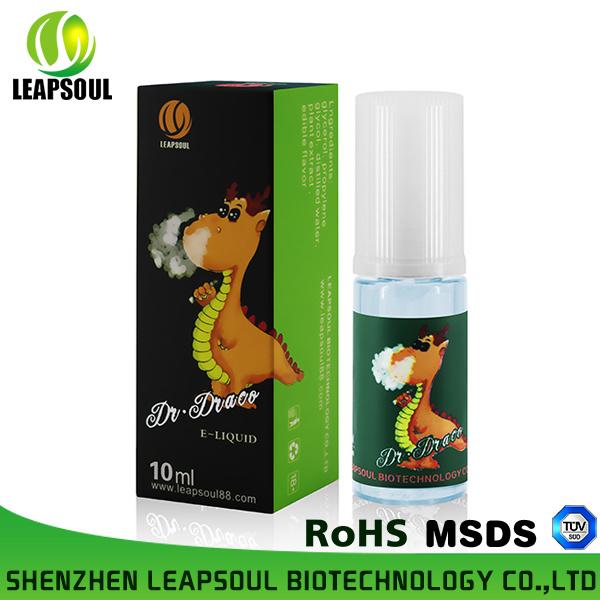 Healthy E-Liquid with Various Cigarette Flavors E Juice
