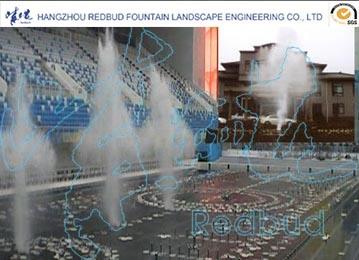 Music Fountain Air Blast Water Fountain
