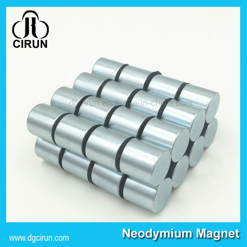 N35 to N52 Grade Rare Earth Round Disc NdFeB Strong Magnet