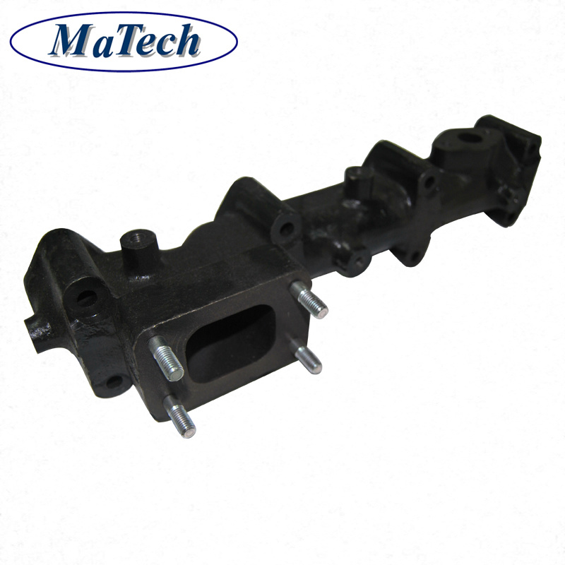 Custom Precisely Exhaust Manifold Iron Resin Sand Casting