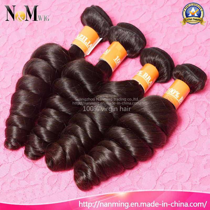 Brazilian Bouncy Curl Human Hair Weaving Spring Curly Human Hair