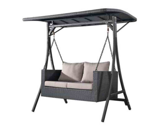 Leisurely Rattan 2-Seater Swing High Quality Garden Swing
