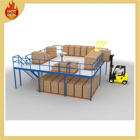 Metal Warehouse Multi-Level Mezzanine Floor Rack Structure