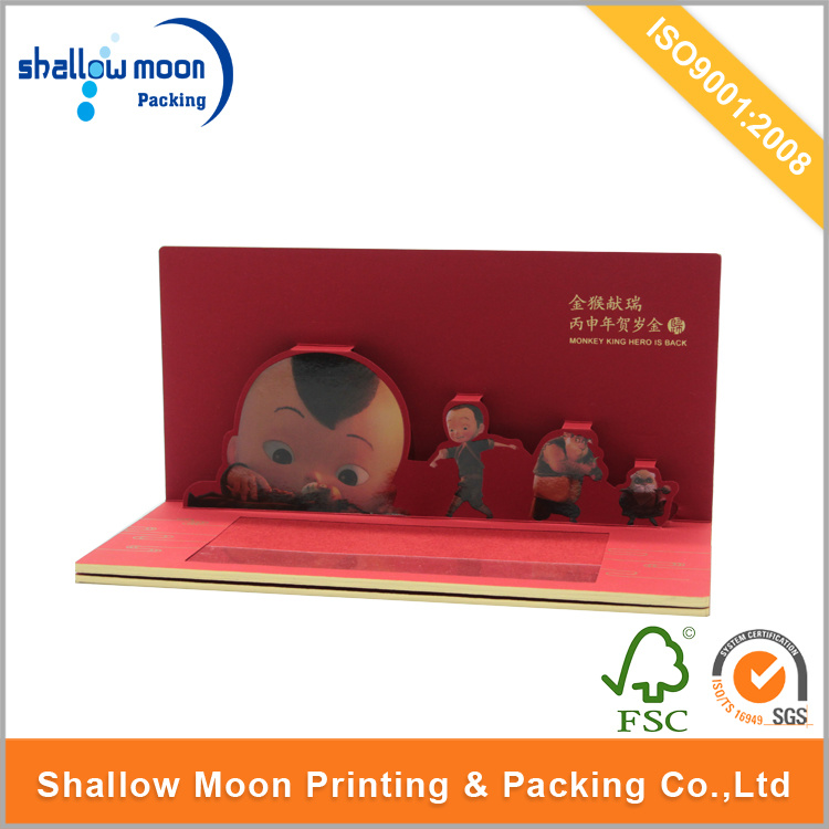 Customized Printing Hardcover Book/ Pop up Children Book (QYCI15270)