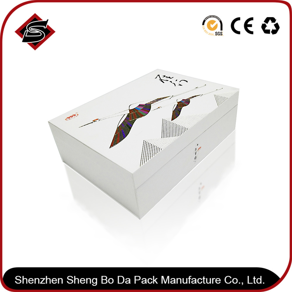 Wooden & Paper High Quality Health Care Products Packaging Box