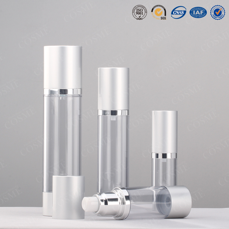 15ml 30ml 50ml 100ml Aluminium as Cosmetic Airless Pump Bottle
