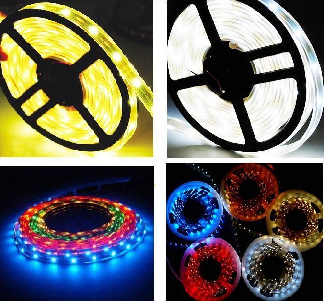 LED Strip Light, Waterproof RGB Home Decoration Popular Green Red Blue Decoration Light for 2013