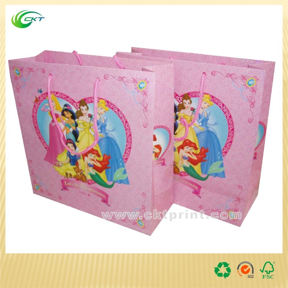 Convenient Shopping Paper Bag with Handle (CKT - PB-525)