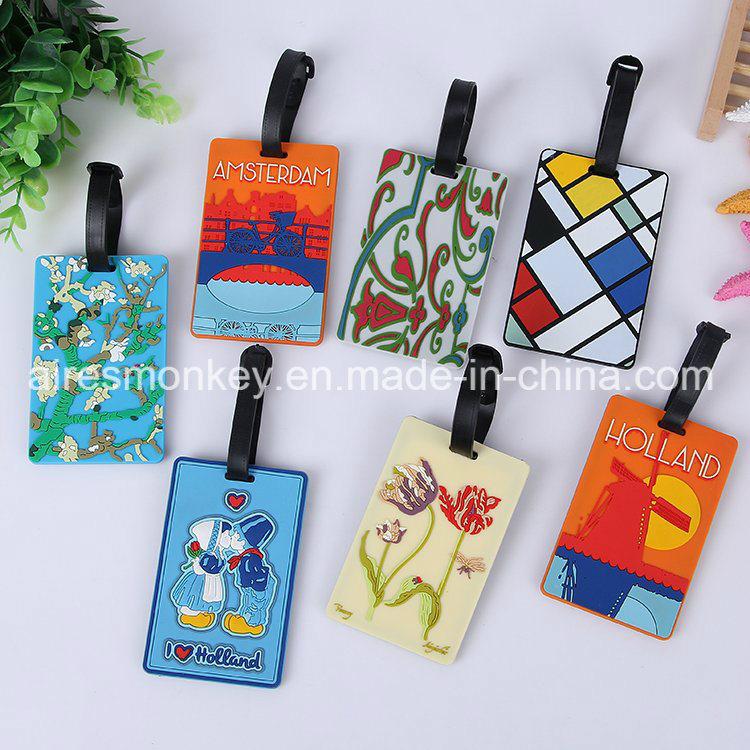 Luggage Tag Souvenir Custom PVC Luggage Tag