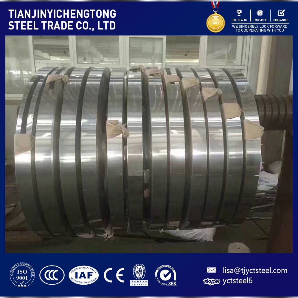 201 304 321 Precision 2b Stainless Steel Strips