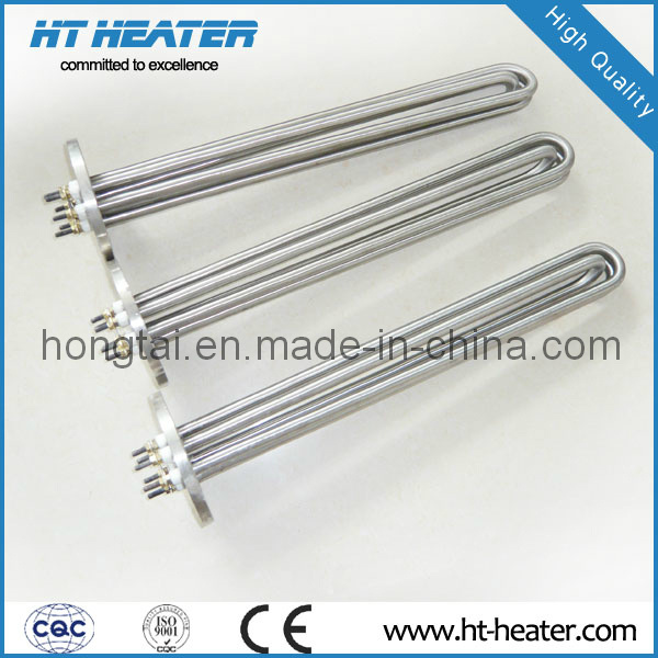 Water Immersion Heater with Plate Flange