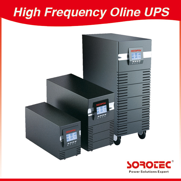 10/15/20kVA Large LCD High Frequency Online UPS
