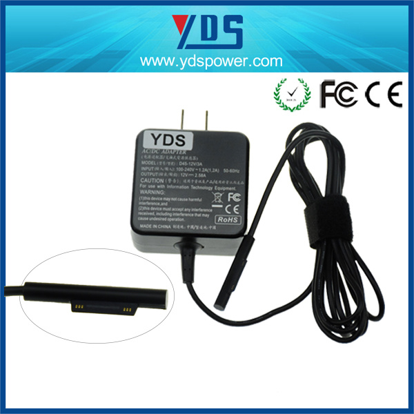 China Manufacturer AC DC Adapter for Microsoft Surface PRO 3