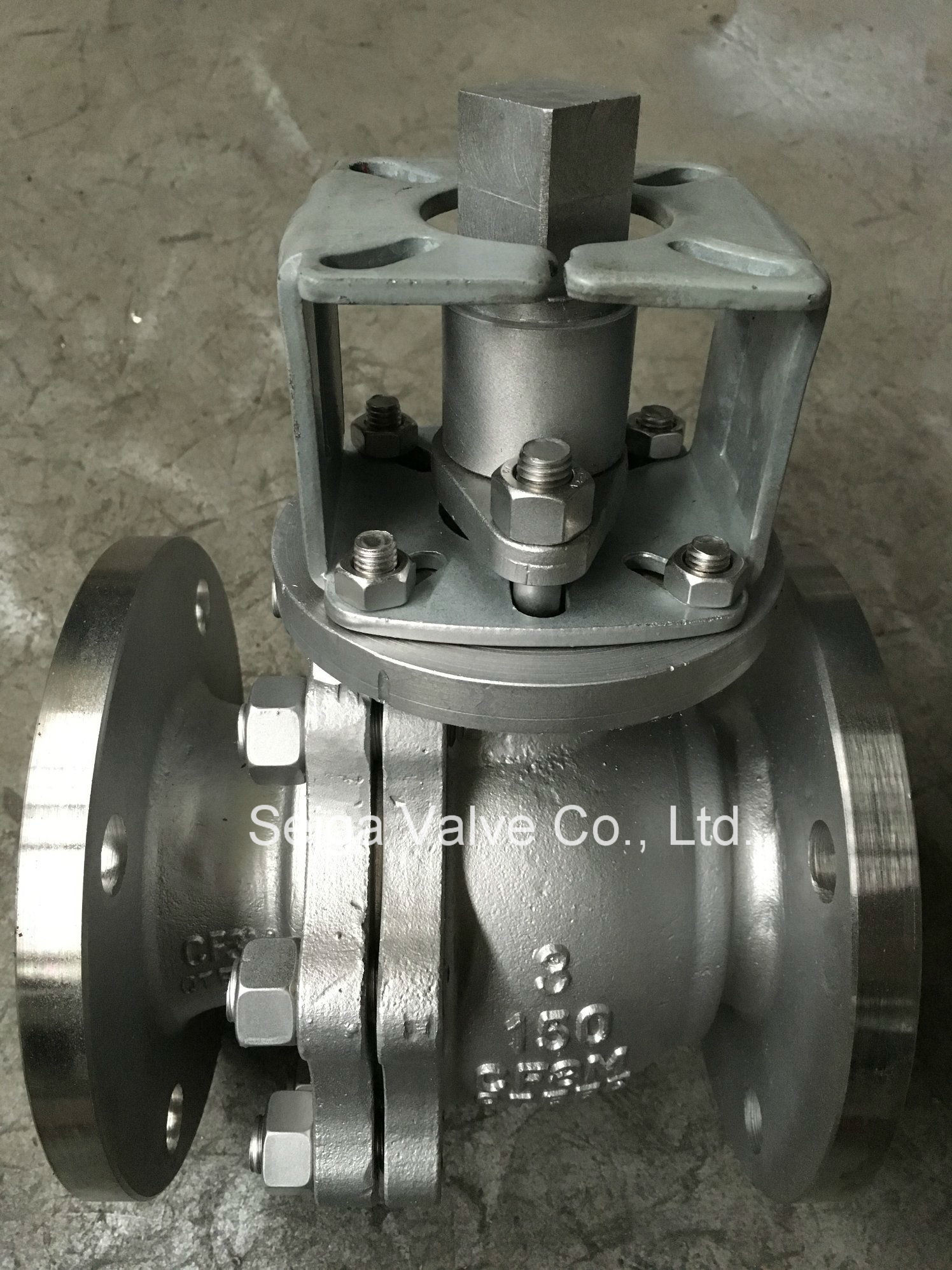 API Stainless Steel Flange Ball Valve