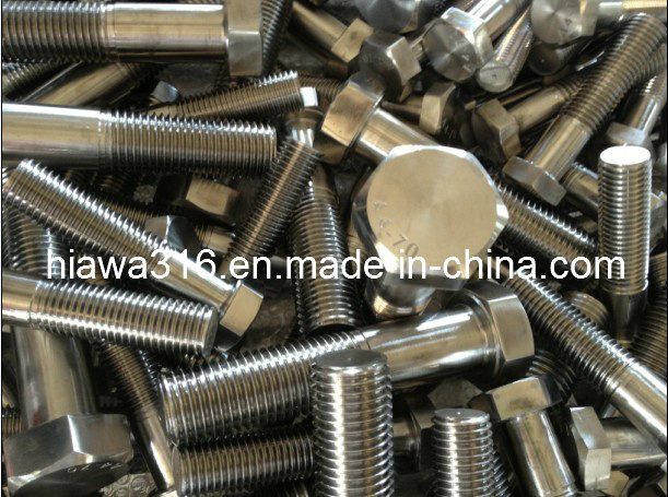 Stainless Steel Bolts (M30 - M76) , ISO4014, ISO4017, DIN931