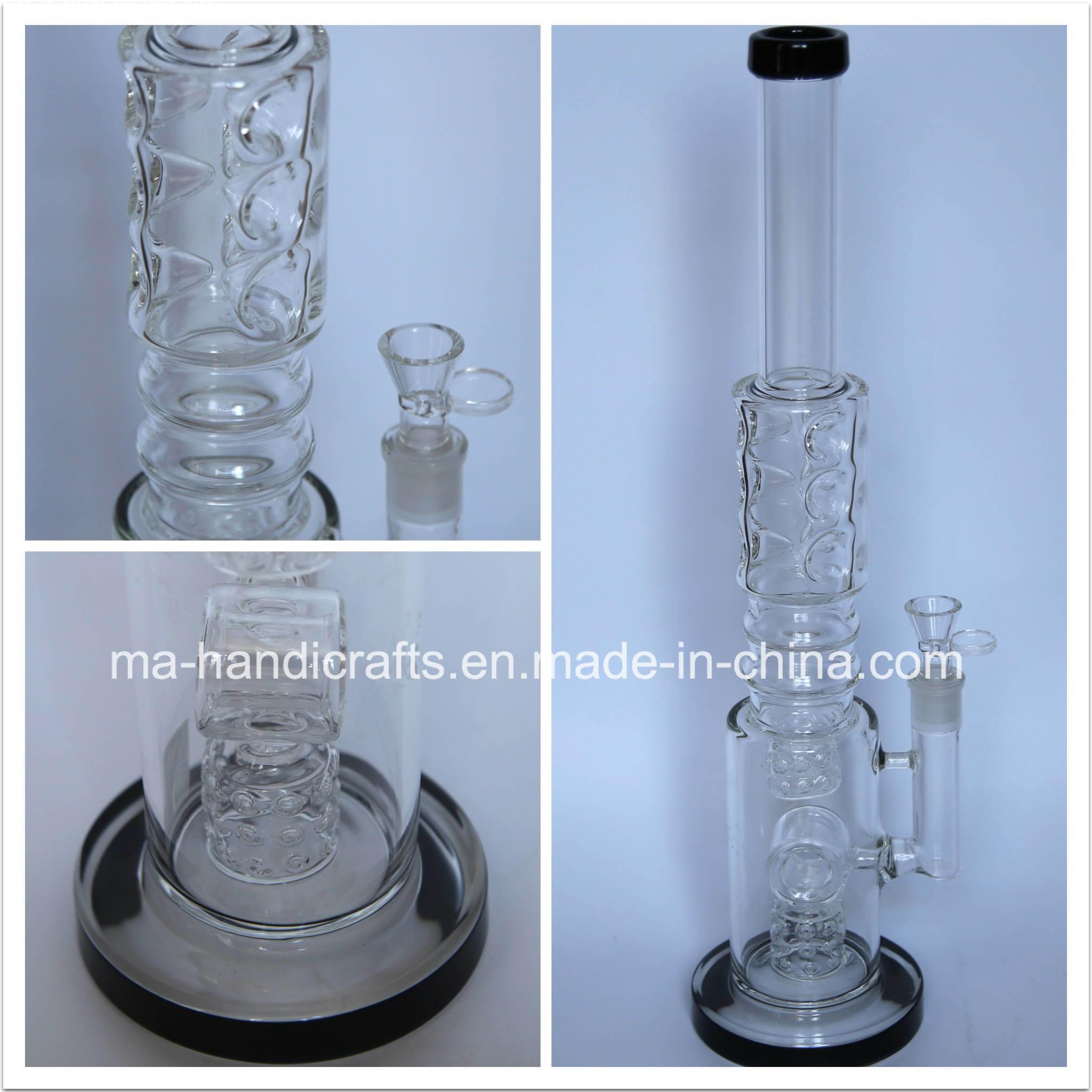 "18"" Ice Pinches Matrix Percolator Smoking Glass Water Pipes/Smoking Bubbler"