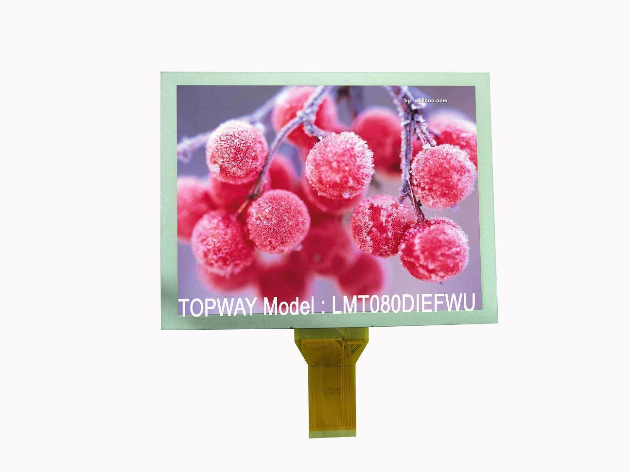 """800X600 8"""" TFT LCD Display Industrial Level LCD Module (LMT080DIEFWU-AAN-2)"""