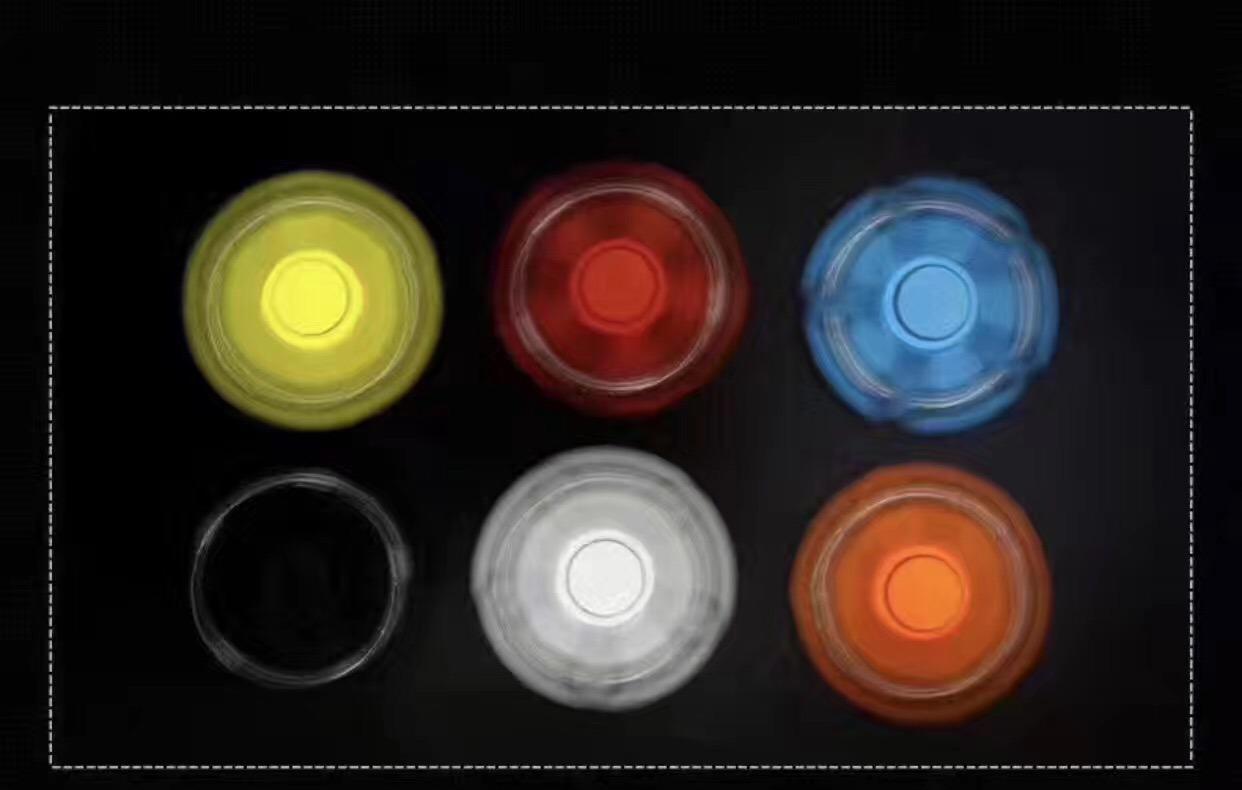 Finger Spinning Toy Hand Spinner LED Light Fidget Spinner