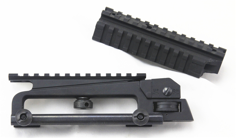 Picatinny Quad Rail Carry Handle