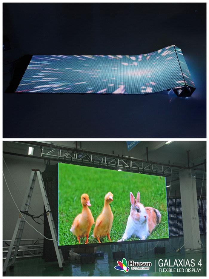 Huasun Galaxias Curved Flexible LED Video Wall Indoor Outdoor