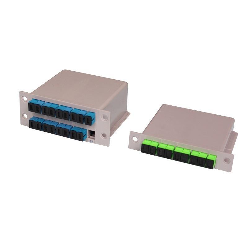 PLC Splitter Optical Splitter Cassette PLC Splitter Plug-in PLC Splitter
