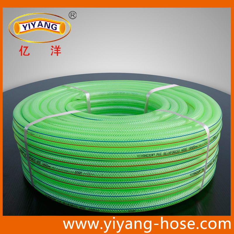 Multiduty PVC Transparent Braid Reinforced Hose