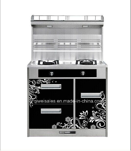 Integrated Cooker with Double Gas Stove (JCJZ-90B)